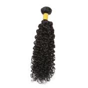 Sent Hair 20cm Brazilian Virgin Hair Curly Weave Wave Human Hair Bundles 1 Bundle Human Hair Weave Natural Black Colour