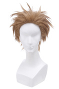 Nuoqi Men's Anime Cosplay Wigs Handsome Short Hairs Costumes Wigs