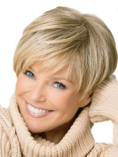 Short Women Wigs Synthetic Platium Blonde Wig for Daily Use