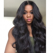 PlatinumHair-z 150% Density lace front Wigs For Black Women Body Wave Glueless Lace Front Wig 50cm