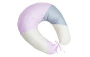Baby pillow (Pink and Grey)