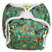 Bummis Super Whisper Wrap Forest Animals - Newborn