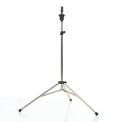 Anself Adjustable Stainless Steel Wig Head Stand Tripod Holder Mannequin Manikin Head Tripod