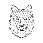 inkbox - The 2 Week Temporary Tattoo - 10cm - Solitarius Lupus
