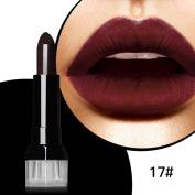 Magical Halo Waterproof Long Lasting Matte Cream Shimmer Lipstick Nude Vampire Makeup Retro Red Batom Blue