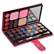 Ecvtop Professional Makeup Kit Eye Shadow Lip Gloss Blush Palette Face Eyebrow Powder,33 Colour
