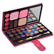 Ecvtop Professional Makeup Kit Eye Shadow Lip Gloss Blush Palette Face Eyebrow Powder,33 Colour