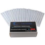 100 Pieces Tattoo Needles- 3rl, 5rl, 7rl, 9rl, 3rs, 5rs, 7rs, 9rs, 5m1, 7m1