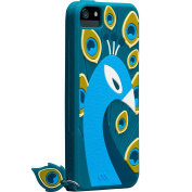 Case-Mate CM022879 Creature Case for iPhone 5 - Peacock Teal - Retail Packaging - Blue