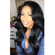 Kerry Brazilian Virgin Hair Body Wave Glueless Lace Front Human Hair Wigs With Baby Hair For Black Women