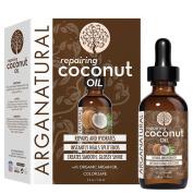 Arganatural Smooth & Repair Coconut Hair Oil, 4 Fluid Ounce