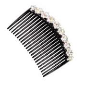 Elegant Women Hair Clip Comb Hair Fork Beautiful Crystal Hair Accessories B
