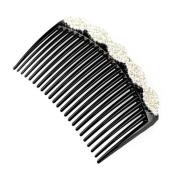 Elegant Women Hair Clip Comb Hair Fork Beautiful Crystal Hair Accessories A