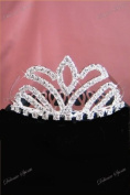New Small Crystal Rhinestone Flowergirl Bridal Wedding Prom Bridemaid Tiara Comb
