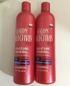 2pck - Salon Selectives Moisture Renewal Shampoo 410ml