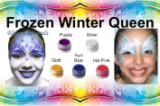 Face Paint Frozen Snow Queen All Natural Non Toxic