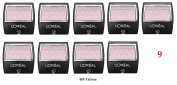 (Pack of 9) - VALUE PACK! - L'Oreal Paris Wear Infinite Eye Shadow Singles, 405 Taffeta, 5mls