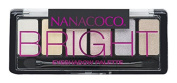 Nanacoco NNCC Six Shade Eyeshadow Palette, Bright, 5ml