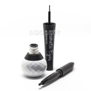 Italia Deluxe Dramatic Eyes 2 in 1 Liquid & Pencil Eyeliner Black Waterproof