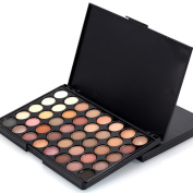 Creazy 40 Colours Cosmetic Powder Eyeshadow Palette Makeup Set Matt Available
