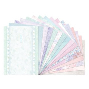 Hunkydory Floral Shimmer Luxury Inserts for Cards