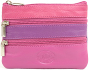 Ladies / Womens Soft Leather Handy Coin Holder / Wallet