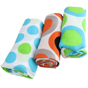 juDanzy 100% Cotton Swaddle Blanket Sets