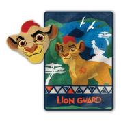 Super Soft Kion Lion Guard Nogginz and Blanket Set