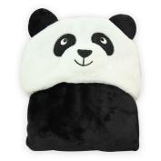 Labellevie Baby Blanket Newborn Baby Unisex Wrap Swaddle 100cm Animal Flannel Panda