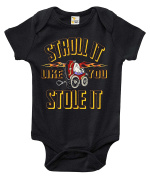 Stroll It Like You Stole It Funny One-piece Baby Bodysuit Cute Baby Clothes