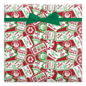 Do Not Open Until Christmas Jumbo Rolled Gift Wrap - 6.7sqm