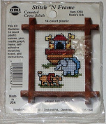 NeedleMagic Noah's Ark Stitch 'N Frame Counted Cross Stitch Kit