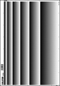 Deleter Screen Tone SE-992W [ White Gradation Pattern (6 Rows)(White Tone) ] [B4 Size