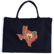 Texas Pig. Psychedelic - Tote Bag