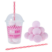 Strawberry Milkshake Bath Fizzers