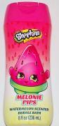 Shopkins Melonie Pips Watermelon Scented Bubble Bath 240ml