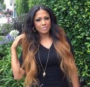 PlatinumHair-z T1b/27 Colour 130 Density Human Hair Lace front Wigs two tone Colour Wavy Glueless Lace Front Wigs 50cm - 60cm