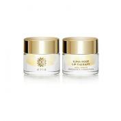 Evie LUNA ROSE LIP THERAPY - Bulgarian Rose Otto (Rosa Damascena) Oil Lip Balm / Lip Mask with Gold Flakes