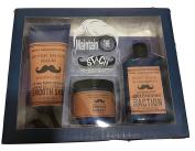 Body Prescriptions Mahogany Maintain The Stach Mens Shaving Kit