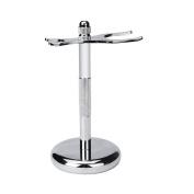FTXJ Removable Mens Shaving Brush Stand Razor Holder Stainless Steel Weighted base (1.2cm