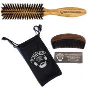 Beardilizer Beard Brush And Beard Comb Set