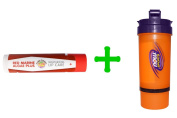 Pure Planet, Red Marine Algae Plus, Lip Care, Vanilla Mint(5 PACK),Now Foods, 3 in 1 Sports Shaker Bottle, 740ml