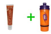 Acure Organics, Lip Lush, Date Worthy, 15ml (14 g)(5 PACK),Now Foods, 3 in 1 Sports Shaker Bottle, 740ml