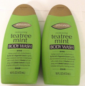 2 pck - Spa Haus Tea Tree Mint Body Wash 470ml