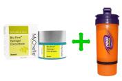 MyChelle Dermaceuticals, Bio-Firm Hydrogel Concentrate, Normal, 1.2 fl oz (35 ml),Now Foods, 3 in 1 Sports Shaker Bottle, 25 oz