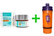 MyChelle Dermaceuticals, Perfect C PRO Speed Peel, Normal, 1.2 fl oz (35 ml),Now Foods, 3 in 1 Sports Shaker Bottle, 25 oz