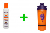 Fairy Tales, Lemon-Aid, Conditioner, 8 fl oz (236 ml)(2 PACK),Now Foods, 3 in 1 Sports Shaker Bottle, 25 oz