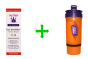 Fairy Tales, Lice Treatment, Lice Good-Bye, No-Drip Mousse, 4 fl oz (119 ml)(2 PACK),Now Foods, 3 in 1 Sports Shaker Bottle, 25 oz