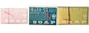 Barr Co Trio Soap Sampler Honeysuckle - Spanish Lime - Lemon Verbena