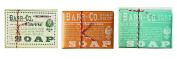 Barr Co Trio Soap Sampler Fir & Grapefruit - Blood Orange Amber - Marine